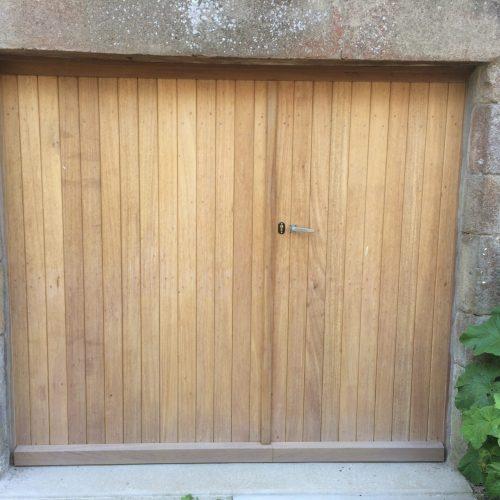 Fabrication portail bois